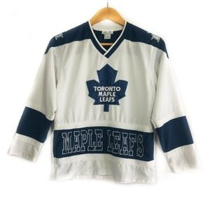 ✨3/$25✨Toronto Maple Leafs Boys Hockey Jersey - M